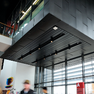 Hunter Douglas ceilings pass the test at Newport's University