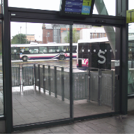 TORMAX access for bus terminal passengers