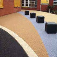 Resin bound surfacing from Ronacrete brings cheer to school playground in Hull