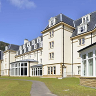 Alutec's aluminium rainwater systems provide style and durability to Ardgartan Hotel