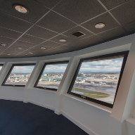 Products from CEP Ceilings Ltd used to complete Manchester Airport's new £20m control tower
