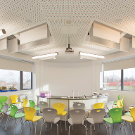 CEP Ceilings at the new £24m South Liverpool Academy project