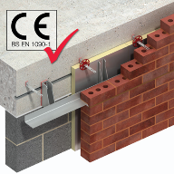 ANCON leads the way with CE Marking of brick support systems and windposts