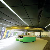 Bespoke ceiling from Hunter Douglas for landmark Newcastle Sixth Form College