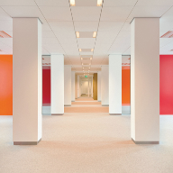 Hunter Douglas develops new type of  Techstyle ceiling panel for Netherlands' Defence Ministry