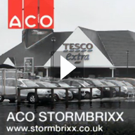 ACO StormBrixx At Hatfield Retail Park In Hertfordshire