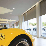 Kaydee Electroshade chosen for Sytner Ferrari dealership in Egham