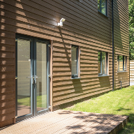 Cedral Weatherboard and Rivendale slates for First-Step's Code for Sustainable Homes Level 4 Concept House on Aldersley Road, Wolverhampton