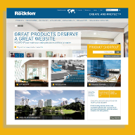 ROCKFON's new website makes selecting and  specifying ceilings easier than ever