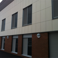 Hessle Road and Bransholme Health Centres GDL Intelivent Wall Units, Wireless Temperature and CO2 Sensors, High Perfomance Weather Louvres, Low Leakage Insulated Dampers.