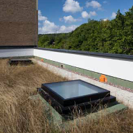 Ten Secured by Design Rooflights At The Keep