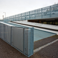 Combined Cladding and Barriers for new Thames Valley Police Base