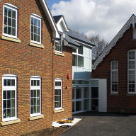 Axis Install Windows, Doors and Curtain Walling at The Coombes School
