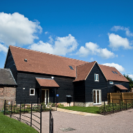 Underfloor heating allows for interior design and decoration flexibility in barn conversion