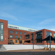 Ancon's stainless steel brick support angle specified for a Blackpool college