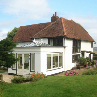 New Westbury orangery for Hertfordshire cottage