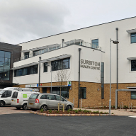 Architectural Aluminium At Surbiton Health Centre