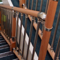 Stair balustrade for Pentland Homes apartment development