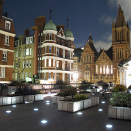 Furnitubes creates bespoke seating & planters for Brown Hart Gardens, London