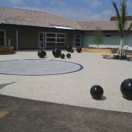RonaDeck Resin Bound Surfacing at Christ Church First School