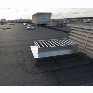 UK's first Olivine roof supplied by Alumasc Roofing Systems