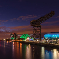 Novum Structures ETFE facade system for the Hydro in Glasgow