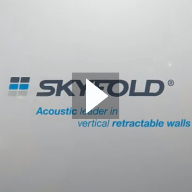 Style Partitions Zenith Acoustic Movable Wall Video