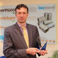 Knauf Insulation named Supplier of the Year at the NBG awards