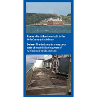 A Newton waterproofing system was chosen for Fort Albert on the Isle of Wight