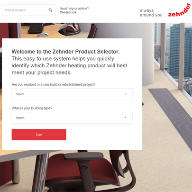 Introducing the new online Zehnder Product Selector