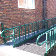 Safetread rubber walkways for West St Leonards Childrens Centre
