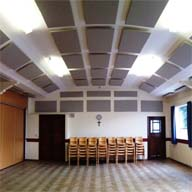SoundFlex panels from Accordial used for Aldridge Methodist Church