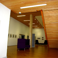 Sustainable wooden ceilings for Edinburgh Centre for Carbon Innovation