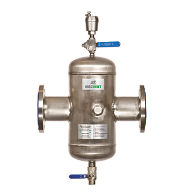 Benefits of stainless products for air and dirt separators
