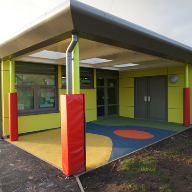 Steni rainscreen cladding panels at Valley Infants School