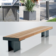 New Contemporary Kaje Bench from DW Windsor