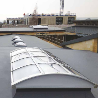 Sika Trocal roofing membrane for Bath university