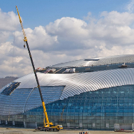 Overclad Kalzip solution for Bolshoy Ice Dome, Sochi