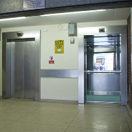 Stannah modernise car park lifts in Taunton with traction lifts