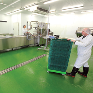 Flowcrete's total flooring package for the food industry on show at Foodex