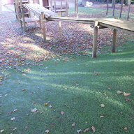 Nomow artificial grass at Black Firs primary school