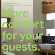 Benefits of Geberit AquaClean for hotel specification summed up in new brochure