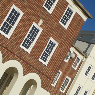 Traditonal Mumford & Wood windows for Cheltenham ladies' college