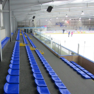 CPS spectator seats installed at ice rink project