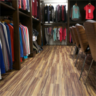 Polyflor flooring products in vogue at SRG Apparel