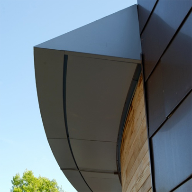 Secret fixed cassette profile for contemporary building
