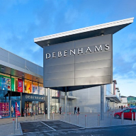 Doors and curtain walling for Debenhams