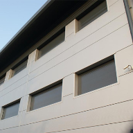 Security shutters for wholesale distribution centre