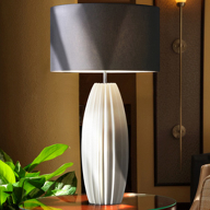 Sculptured feature lamp for Hilton hotel