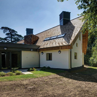 Shingle roof provides solution at Frensham Heights School